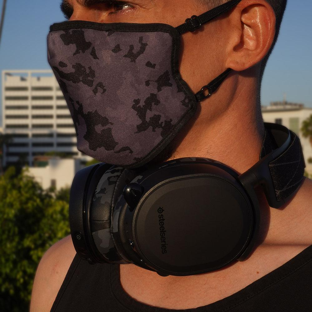 WC Mask - Black Camo |