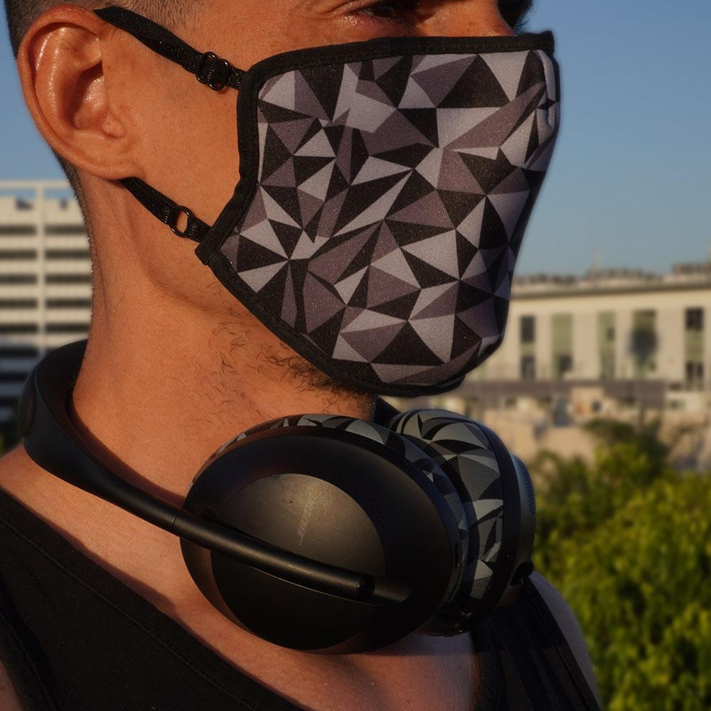 WC Mask - Geo Grey |