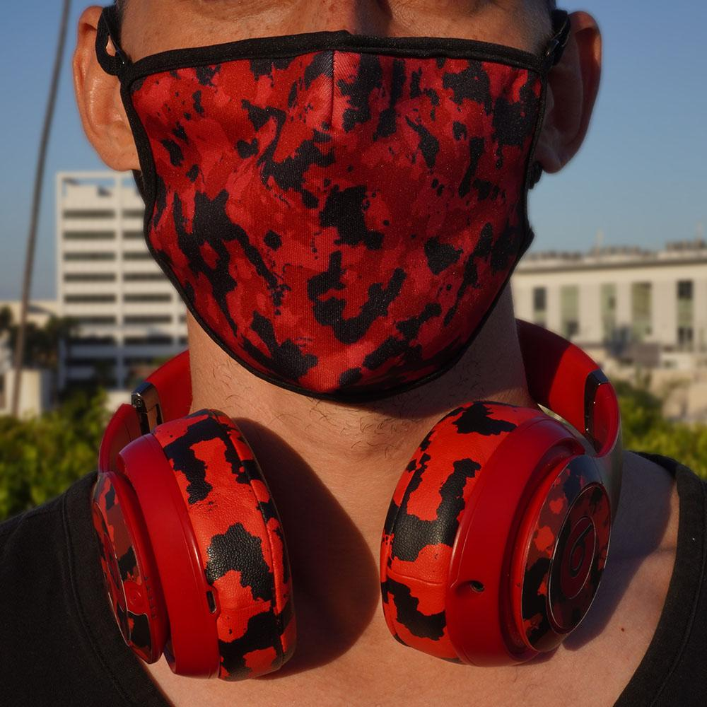 WC Mask - Red Camo |