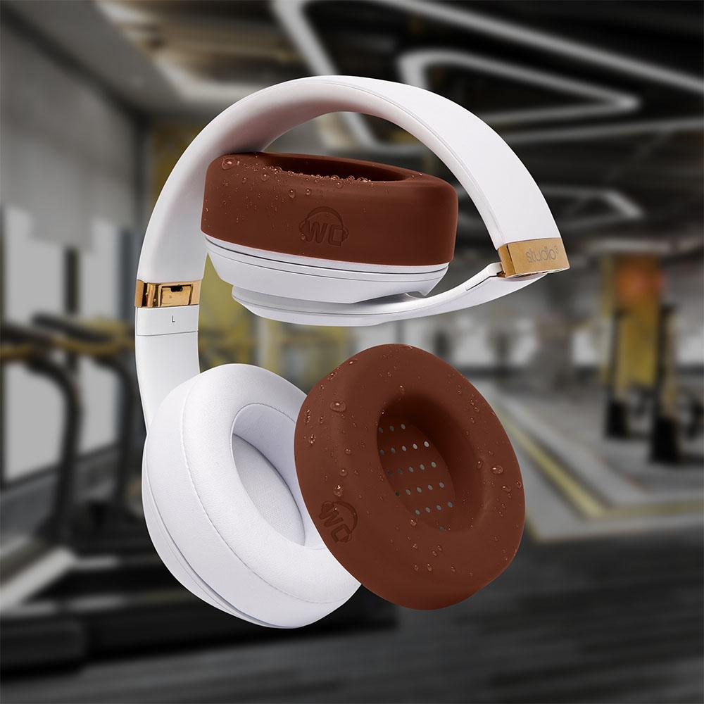 WC SweatZ Protective Headphone Earpad Cover | Brown