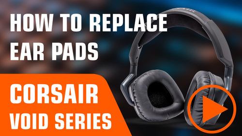 how to replace corsair void pro earpads