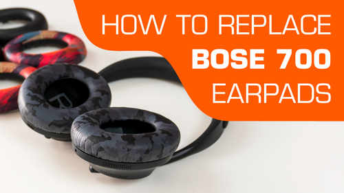 How to replace Bose 700 Ear pads