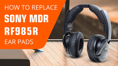 How to replace Sony MDR-RF Ear Pads