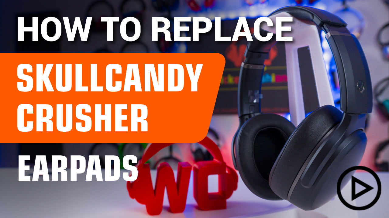 How to replace SkullCandy Hesh 3 & Crusher Ear Pads