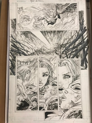 Original Art World's End Issue 16 Page 18 Tyler Kirkham原画