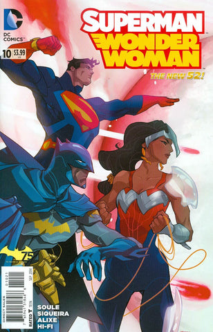 【大陆现货】Superman Wonder Woman #10 Variant