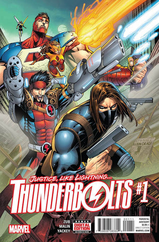 【大陆现货】Thunderbolts Vol 3 #1 Regular Jon Malin Cover