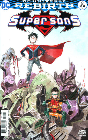【大陆现货】Super Sons #2 Variant Dustin Nguyen Cover