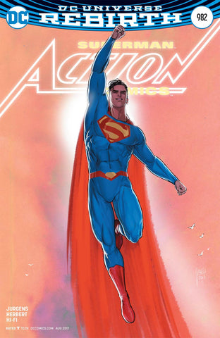 【大陆现货】Action Comics Vol 2 #982 Variant