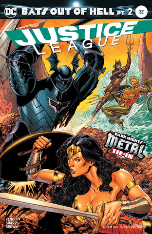 【大陆现货】Justice League Vol 3 #32 (Bats Out Of Hell Part 2)