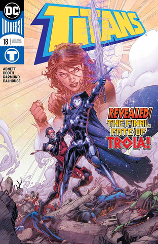 【大陆现货】Titans Vol 3 #18 Regular Brett Booth & Norm Rapmund Cover