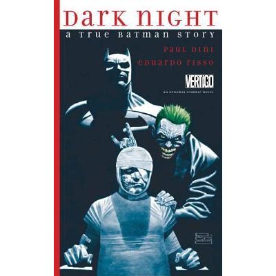 Dark Night: A True Batman Story by Paul Dini (English) Hardcover Book