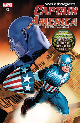 CAPTAIN AMERICA STEVE ROGERS # 2 Hail Hydra Secret Empire