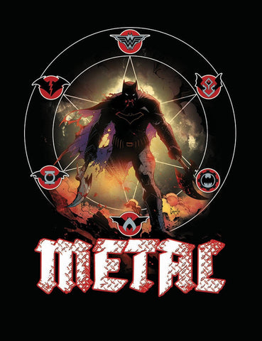 DC DARK NIGHTS METAL #1 MIDNIGHT RELEASE VAR A
