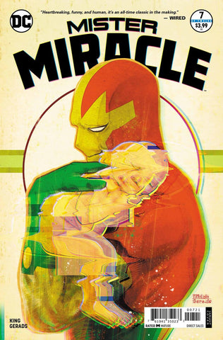 DC Comics MISTER MIRACLE #7 Foil Variant Wonder Con Convention Exclusive 2018