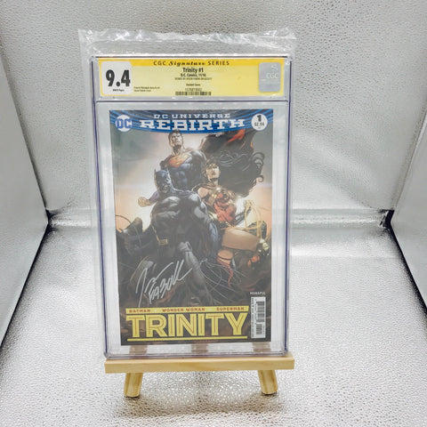 DC Rebirth Trinity #1 CGC 9.4 Signed by Fabok