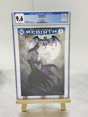 BATMAN #1 ASPEN COMICS MICHAEL TURNER VARIANT CGC 9.6