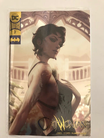 Cat Woman #3 Gold Foil Convention Exclusive Variant DC Comics
