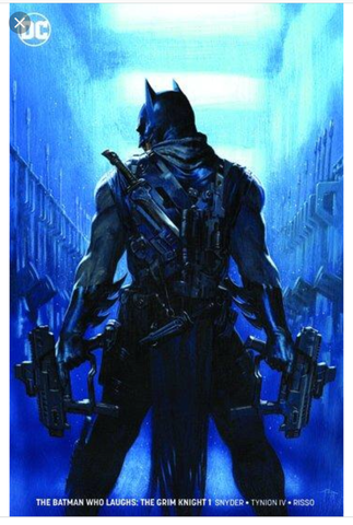 BATMAN WHO LAUGHS GRIM KNIGHT 1 GABE DELL OTTO ECCC FOIL VARIANT场限金属变体