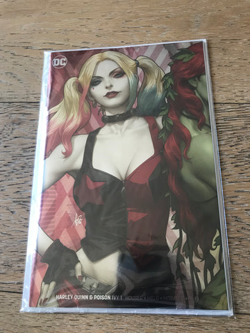 Harley Quinn Poison Ivy #1 Artgerm Harley Variant foil NYCC 2019 exclusive
