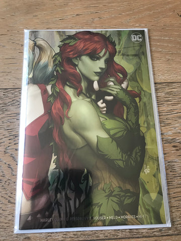 Harley Quinn Poison Ivy #1 Artgerm Ivy Variant foil NYCC 2019 exclusive