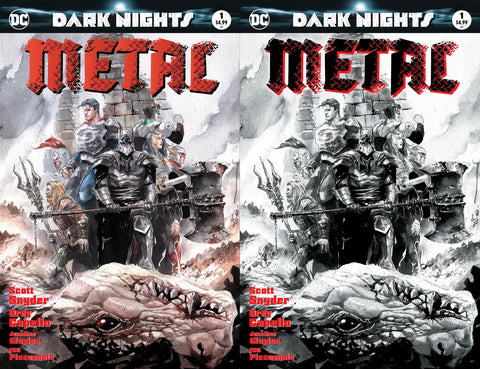 DC DARK NIGHTS METAL #1 ZMX COMICS EXCLUSIVE DUSTIN NGUYEN VARIANT SET