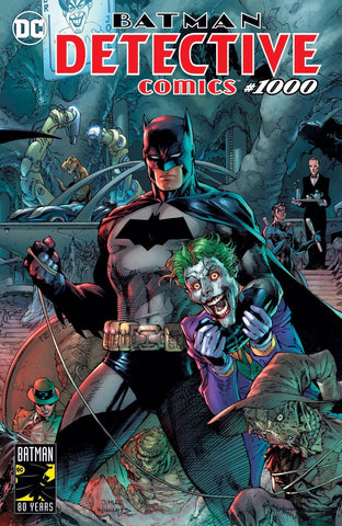 Detective Comics #1000 Jim Lee Covers A 蝙蝠侠侦探漫画第1000期