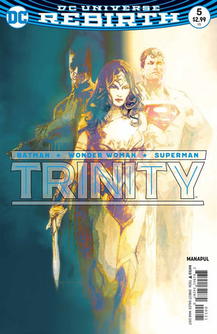 Trinity #5 Variant Cover by Bill Sienkiewicz DC Comics