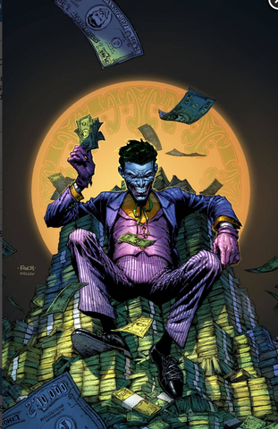 Joker 80th-Anniversary 100-Page Super Spectacular #1 1950s variant cover David Finch 小丑80周年预订变体