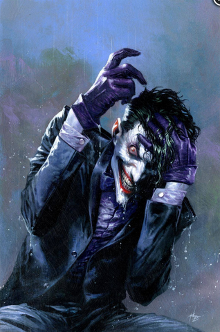 Joker 80th-Anniversary 100-Page Super Spectacular #1 1990s variant cover Gabriele Dell'Otto 小丑80周年预订变体