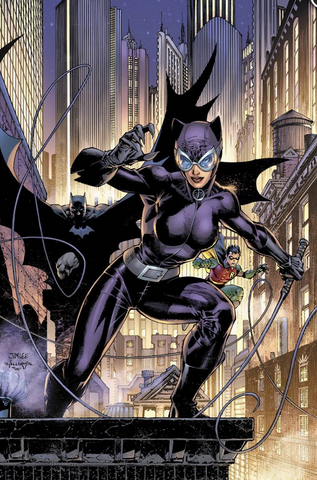 Catwoman 80th-Anniversary 100-Page Super Spectacular #1 2000s variant cover by JIM LEE and SCOTT WILLIAMS 猫女80周年变体