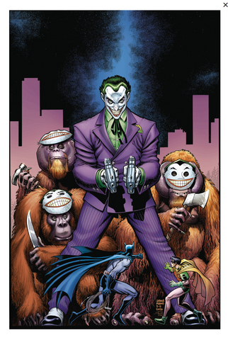 Joker 80th-Anniversary 100-Page Super Spectacular #1 1940s variant cover Arthur Adams 小丑80周年预订变体