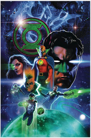 GREEN LANTERN 80th ANNIVERSARY 100-PAGE SUPER SPECTACULAR Pre-order Regular Cover Liam Sharp普封