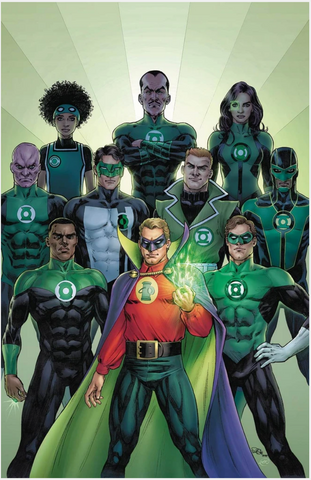 GREEN LANTERN 80th ANNIVERSARY 100-PAGE SUPER SPECTACULAR Pre-order 1940 Cover Scott 变体