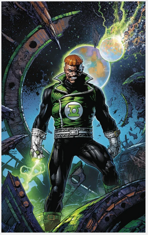 GREEN LANTERN 80th ANNIVERSARY 100-PAGE SUPER SPECTACULAR 1980 Cover David Finch 变体