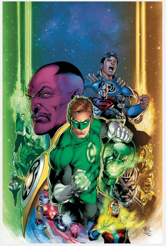 GREEN LANTERN 80th ANNIVERSARY 100-PAGE SUPER SPECTACULAR Pre-order 2000 Cover Ivan Reis & Oclair Albert变体