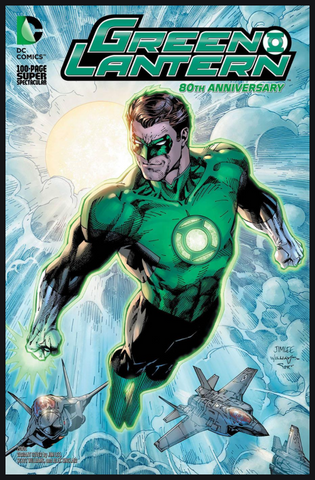 GREEN LANTERN 80th ANNIVERSARY 100-PAGE SUPER SPECTACULAR 2010 Cover Jim Lee变体