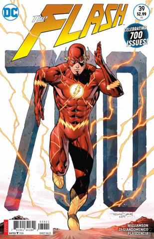FLASH #39 VARIANT TONY S. DANIEL SOLD OUT 700TH ISSUE CVR B MARVEL COMICS