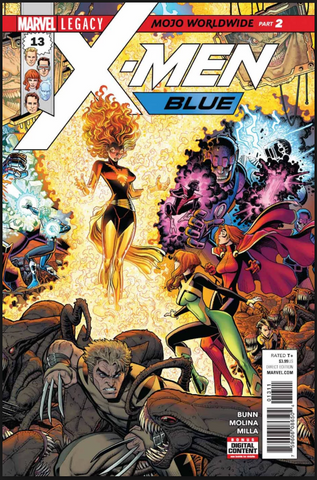 "X-Men: Blue Vol 1 #13 ""Mojo Worldwide: Part 2"" Marvel"