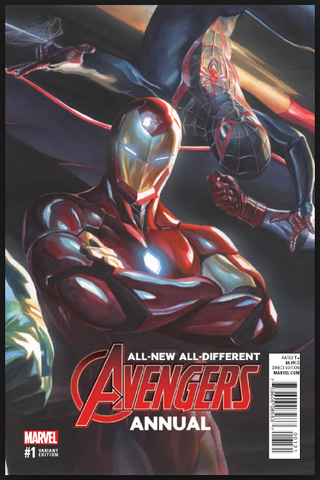 All New All-Different Avengers Annual #1 Alex Ross Variant Marvel Comics