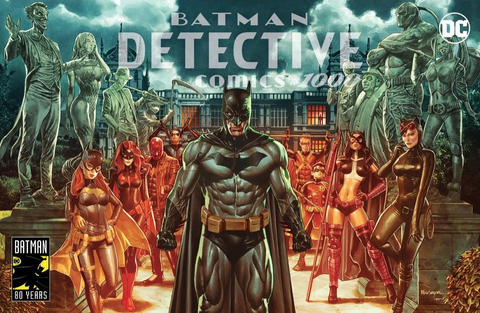 DETECTIVE COMICS #1000 Suayan EXCLUSIVES VARIANT 变体