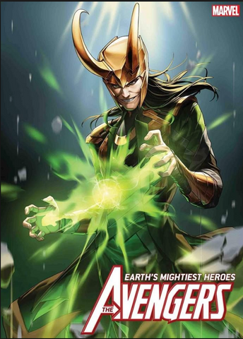 THE AVENGERS # 9 Earth's Mightiest Heroes Loki Variant