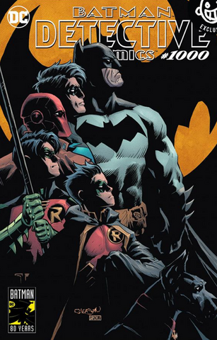 DETECTIVE COMICS #1000 Patrick Gleason EXCLUSIVES VARIANT 侦探漫画1000期变体