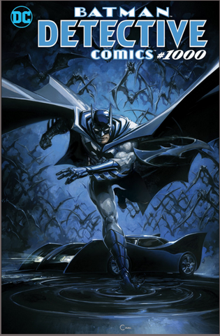 DETECTIVE COMICS #1000 Clayton Crain EXCLUSIVES VARIANT 变体