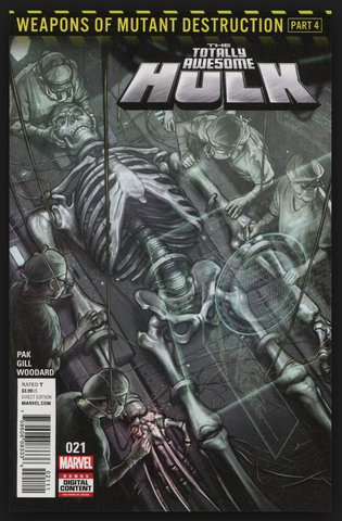 The Totally Awesome Hulk #21 First Print