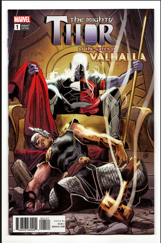 MIGHTY THOR GATES OF VALHALLA #1 (OF 1) GARNEY VARIANT ONE SHOT!!雷神