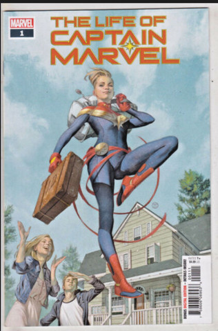 THE LIFE OF CAPTAIN MARVEL #1 (2018) MARVEL COMICS 惊奇队长