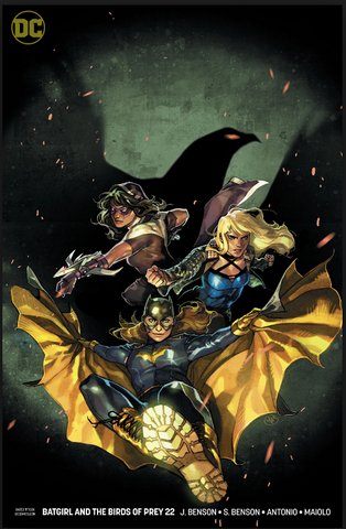 Batgirl and the Birds of Prey #22 Variant