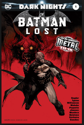 Dark Knights Metal Batman Lost #1 Foil Cover 2nd print 二印