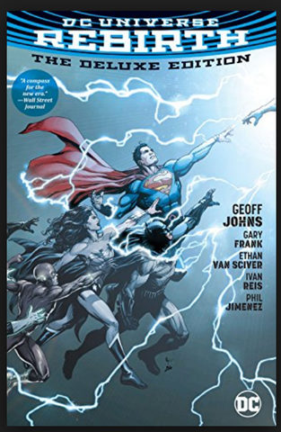 DC Universe Rebirth #1 First Print